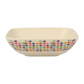 7.5inch Square Bowl (rainbow)