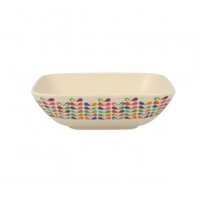 5.5inch Square Bowl (rainbow)