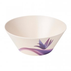 9inch Round Salad Bowl (Floral)