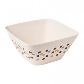 9.5inch Square Deep Bowl (Mosaic)