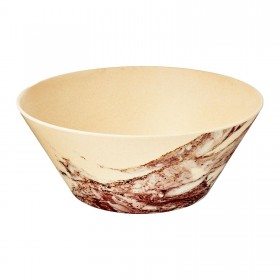 9inch Round Salad Bowl (Marble)