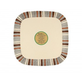 8inch Square Plate (Twill)