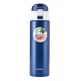 0.5L Vacuum Flip Flask (Blue)