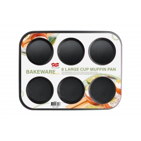 6 Large Cup Muffin Pan