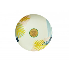 8 inch Round Plate (Tropical)