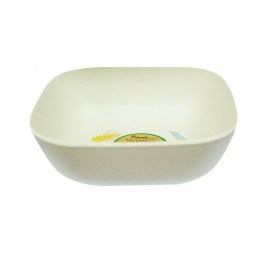 6 inch Deep Square Bowl (Tropical)